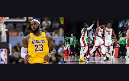 Lakers beat Heat in Game 1 of NBA Finals