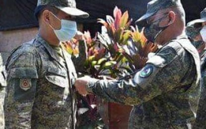 Westmincom fetes troop for rescue of Fil-Am