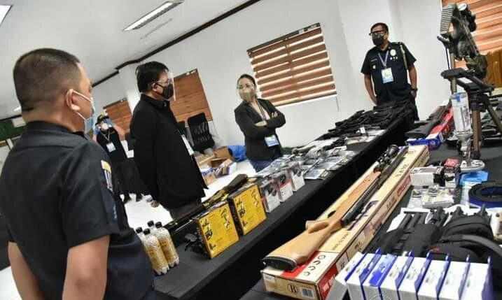 BOC-NAIA intercepts P1.5M worth of firearms, parts and accessories