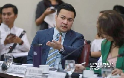Velasco urges Cayetano to pass 2021 budget, resign on Oct 14