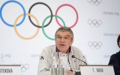 IOC chief arrives in Tokyo to review Olympics preparations