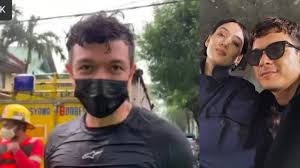 Jericho Rosales and wife Kim Jones use surfboards to help rescuers in Marikina