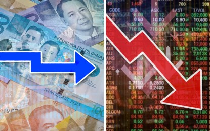 Stocks slip, peso ends sideways