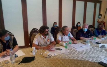 Foreign dignitaries visit Albay for disaster response mission