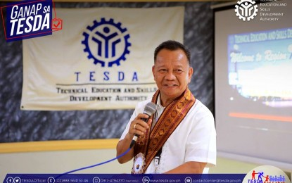 TESDA chief tests positive for Covid-19