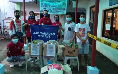 Leyte youth org launches donation drive for typhoon-hit Bicol