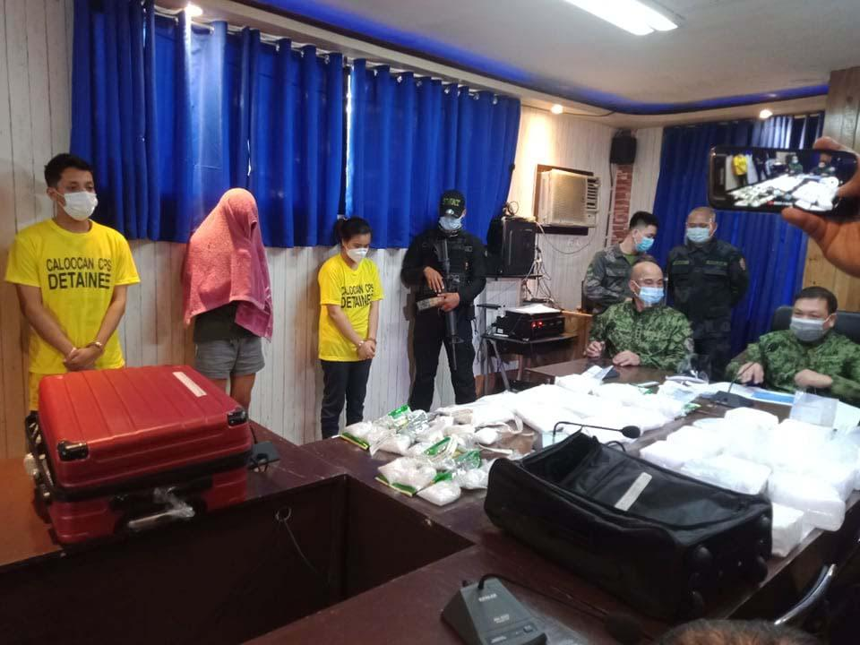 Operatives score a humongous drug haul in Caloocan