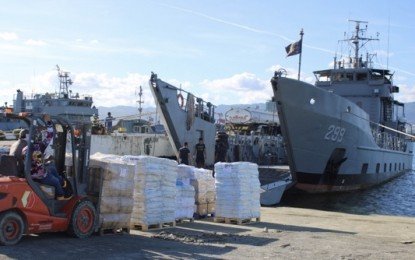 Navy ship to return to Catanduanes for more relief ops