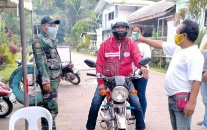 Leyte town on lockdown on Christmas, New year