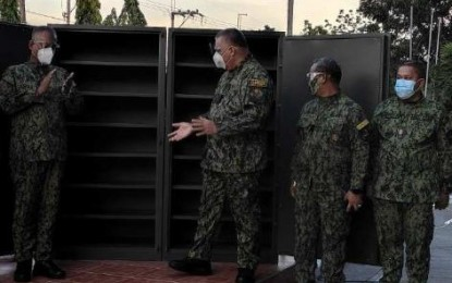 NCRPO gets 9 new storage vaults