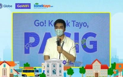 Pasig, Globe partner to provide more affordable internet access