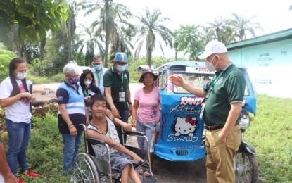 PWDs get wheelchairs, cash aid from Tacurong City