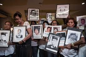 Desaparecidos may be gone but not forgotten—victims' families