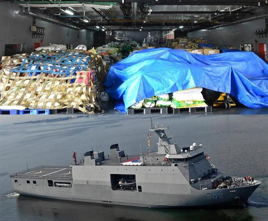 PH Navy brings 76 tons of relief goods to Cagayan