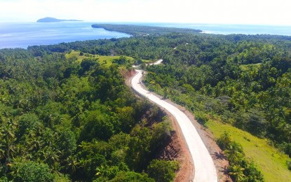 P22-M access road to S. Leyte tourist site completed