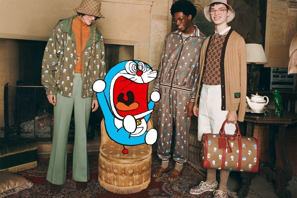 Gucci collaborates with bestselling Japanese manga as it turns 50