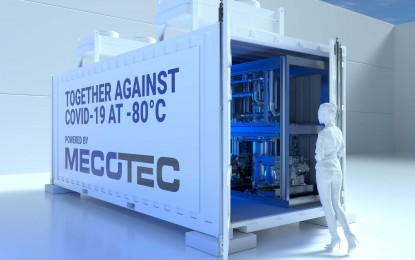 Firm offers mobile container solutions for Covid-19 vaccine