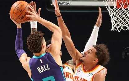 NBA: LaMelo Ball becomes youngest to post triple-double
