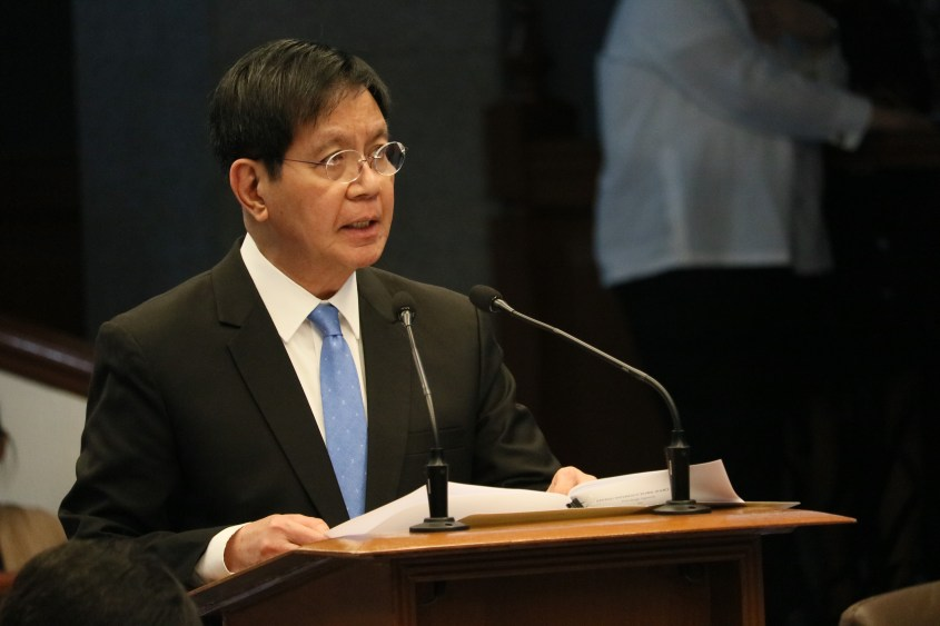 Lacson: Frontliners deserve to know details of overall vaccination plan