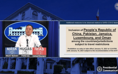 China, 4 other countries included on PH travel restriction list