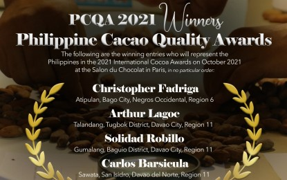 3 Davao farmers to compete in int'l cocoa tilt