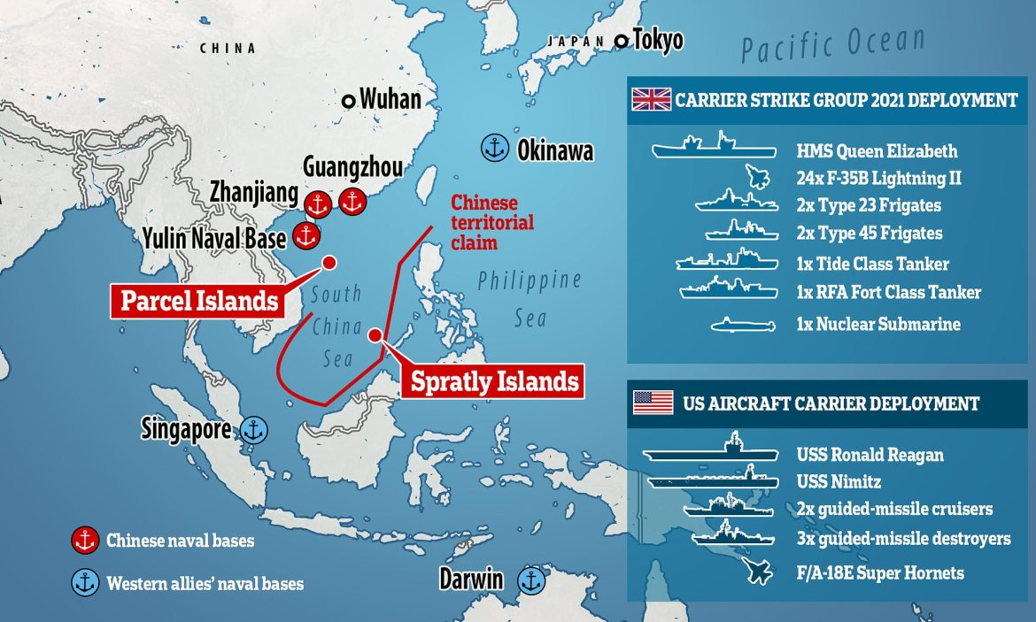 South China Sea challenges