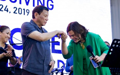Sara won't join 2022 presidential race, PRRD maintains