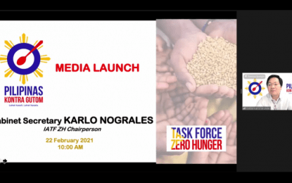 Gov't, private sector formally launch Pilipinas Kontra Gutom