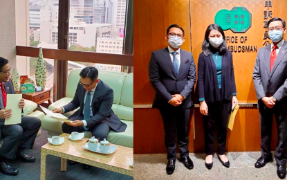 PH, Indonesia submit joint demarche to HK on boarding facilities