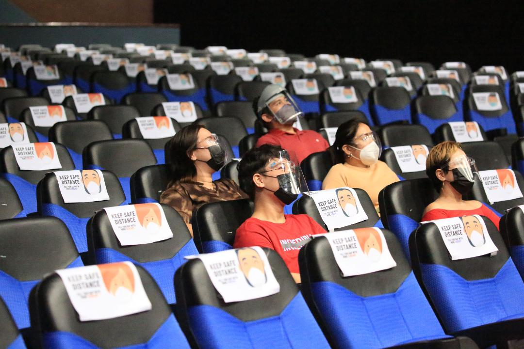 Cinemas now allowed at 50% capacity