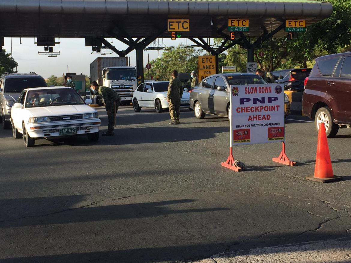 9k+ COPS manning NCR Plus Bubble checkpoints gets 'thumbs up'