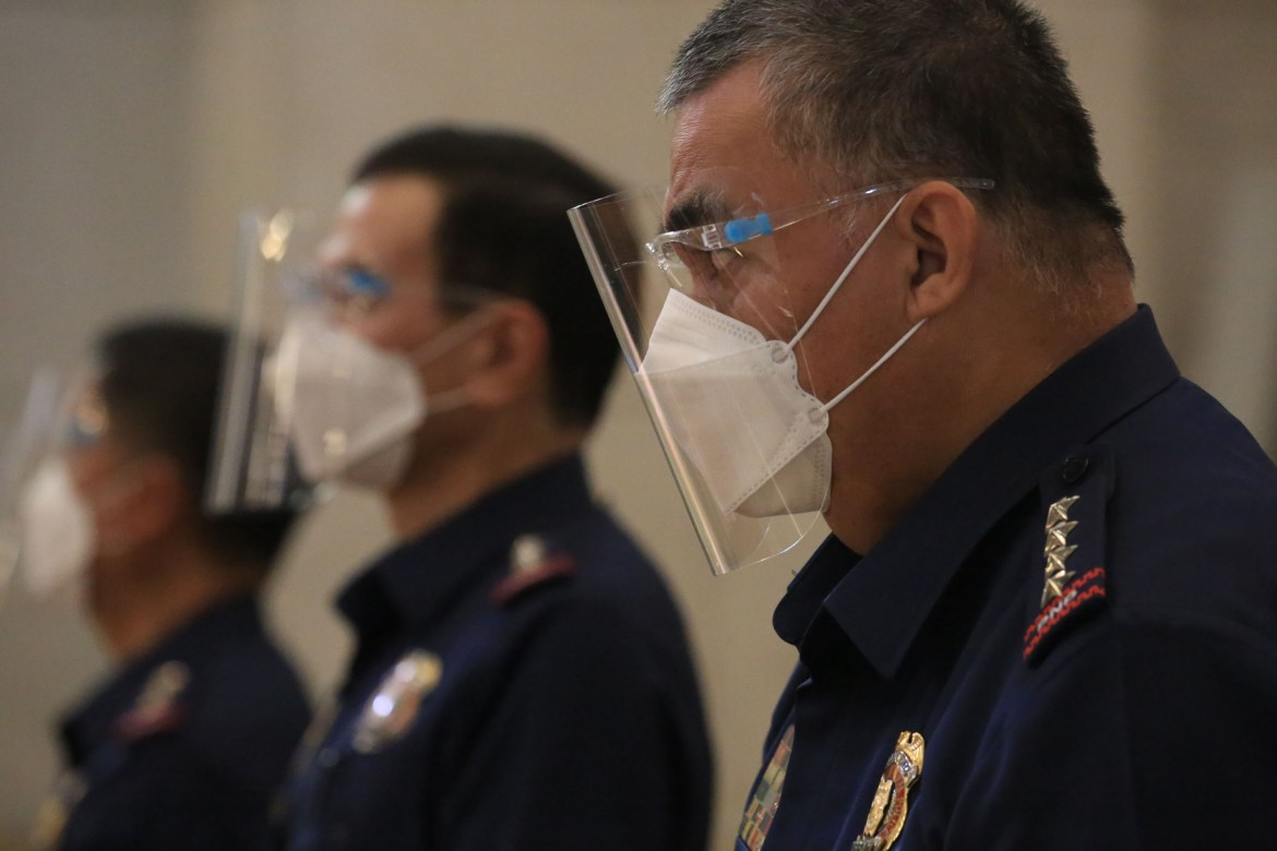 Chief PNP, other top officers attend 'Blue Mass' at Manila Cathedral