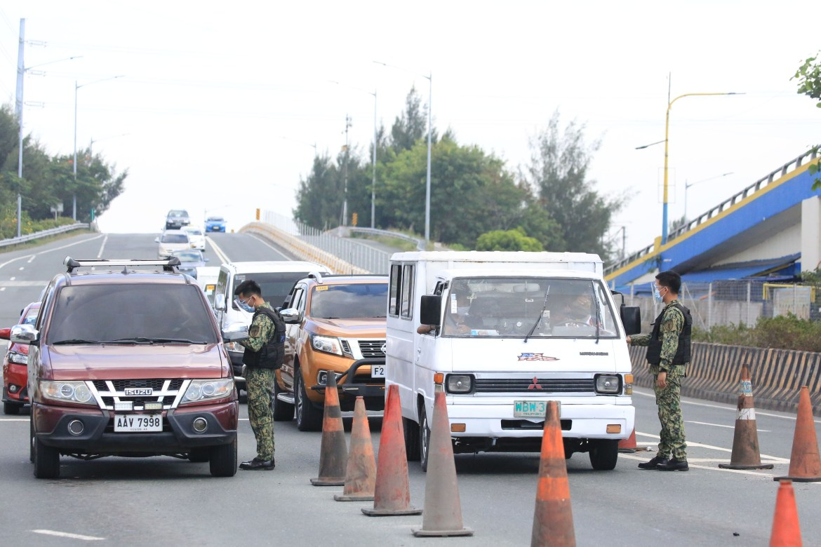 Cavite back to GCQ, checkpoints up again amid surge of Covid-19 cases