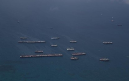 AFP notes reduction in Chinese vessels off Julian Felipe Reef
