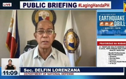 ECQ for NCR, 4 other provinces very timely: Lorenzana