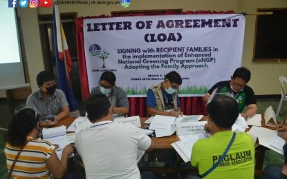 122 poor Leyte families tapped in massive tree planting