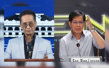 Panelo dares Lacson to present solution to vaccine shortage