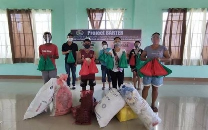 Leyte town residents to swap plastic waste with food