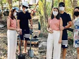 Matteo Guidicelli, Sarah Geronimo celebrate  important events in March with a groundbreaking of their house in Batangas
