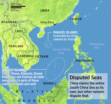 China claims sovereignty over West Philippine Sea