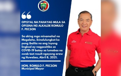 Another Pampanga mayor tests positive for Covid-19