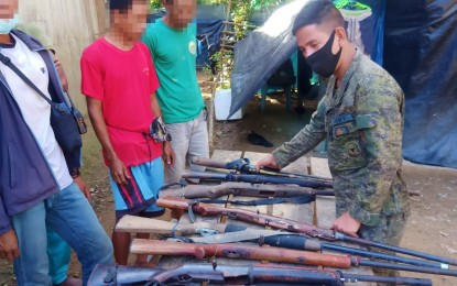 9 surrenderers in Sultan Kudarat vow never to join NPA again
