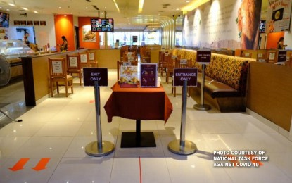 Indoor restaurants may remain closed: DTI chief
