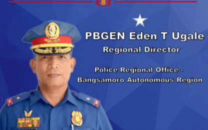Ugale assumes as new BARMM top cop