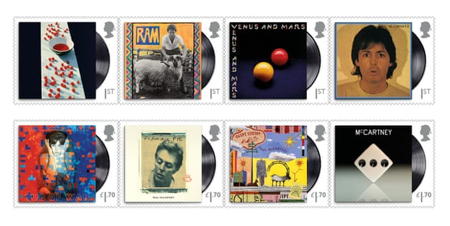 Royal Mail to issue 'Paul McCartney stamps soon