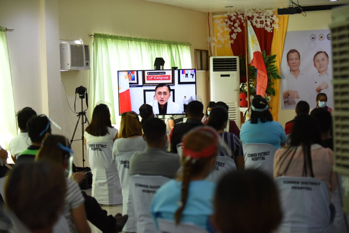Go virtually launches 108th Malasakit Center in Apayao, CAR