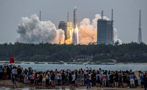 Uncontrolled reentry of China's launcher could be a threat—NASA