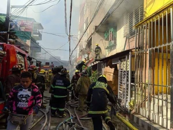 Tayuman residential area hit by fire