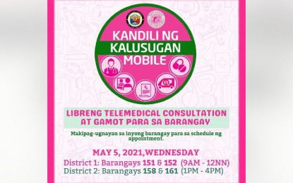 Free medicines, medical consultation for Pasay residents