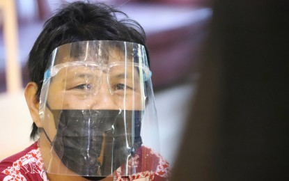 Warning for non-use of face shield stays: PNP